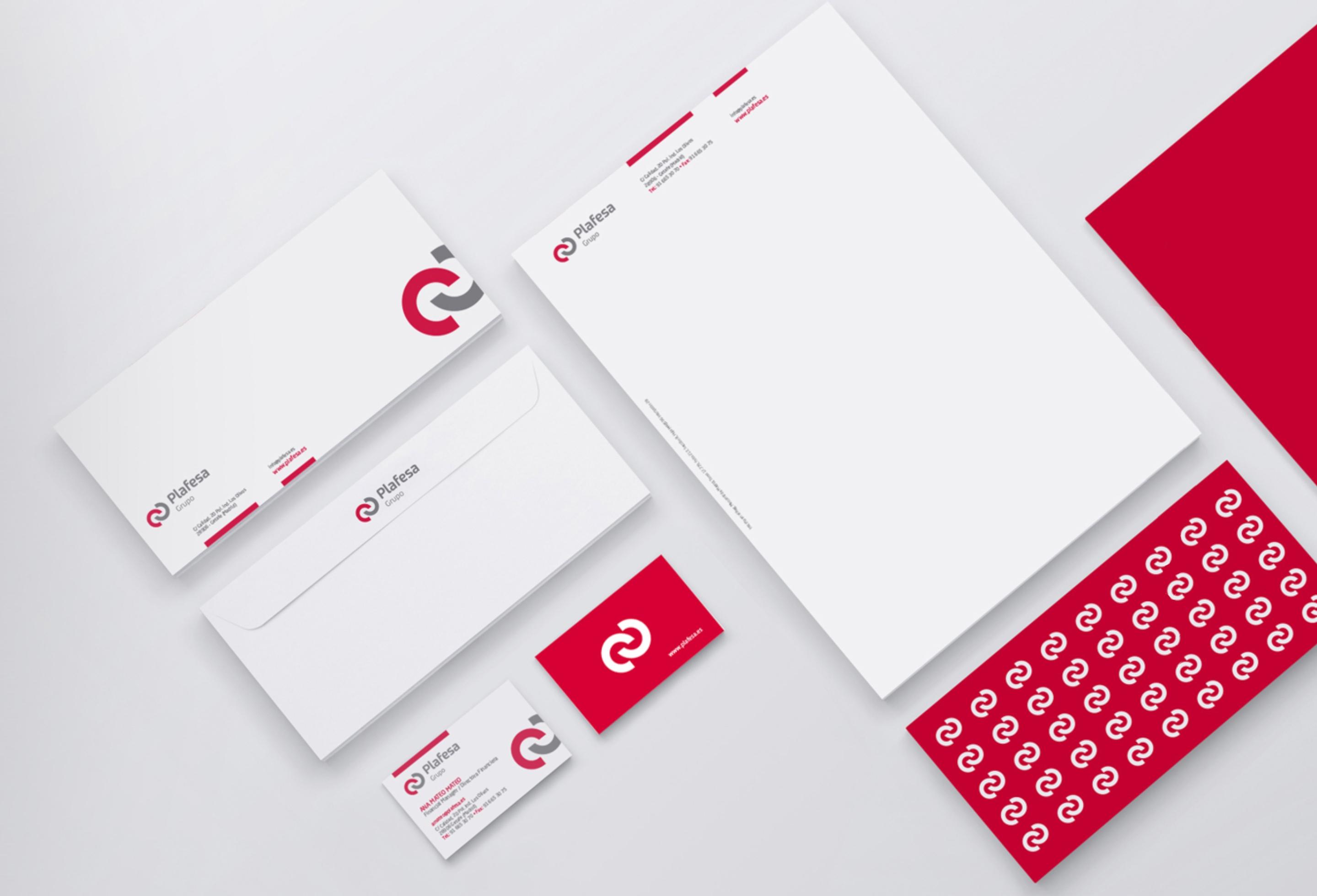 diseño de imagen corporativa papelería