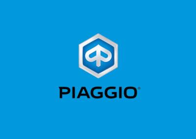 Publicidad Motos Piaggio